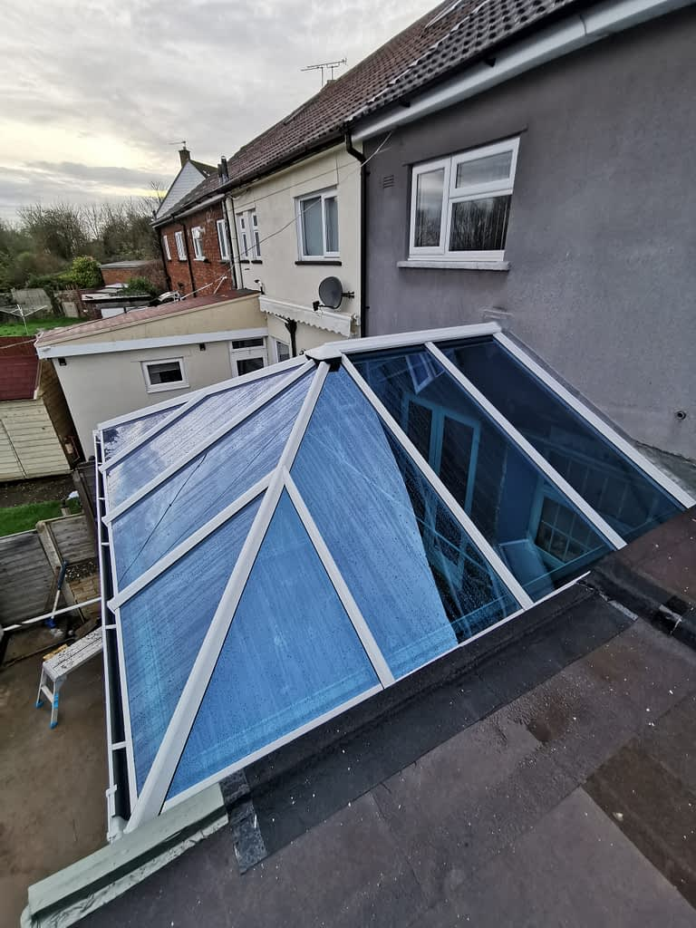 self cleaning tinted glass conservatory